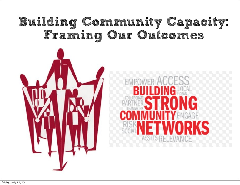 Capacity Building for Community Partnerships